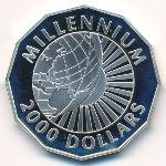 Гайана, 2000 долларов (1999 г.)