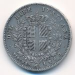 United Provinces of Central Italy, 2 lire, 1860–1861