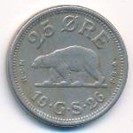 Гренландия, 25 эре (1926 г.)