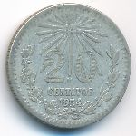 Мексика, 20 сентаво (1934 г.)