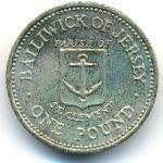 Джерси, 1 фунт (1985 г.)