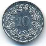 Швейцария, 10 раппенов (1982 г.)