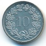 Швейцария, 10 раппенов (1983 г.)