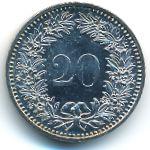Швейцария, 20 раппенов (1985 г.)