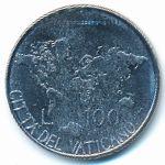 Ватикан, 100 лир (1985 г.)
