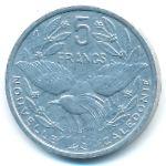 Новая Каледония, 5 франков (1986 г.)