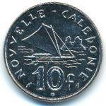 Новая Каледония, 10 франков (1986 г.)