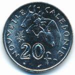 Новая Каледония, 20 франков (1986 г.)