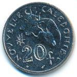 Новая Каледония, 20 франков (1991 г.)