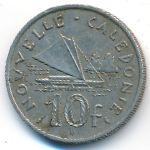 Новая Каледония, 10 франков (1967 г.)