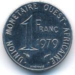 Западная Африка, 1 франк (1979 г.)