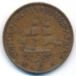 ЮАР, 1 пенни (1943 г.)