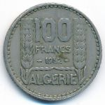 Алжир, 100 франков (1952 г.)