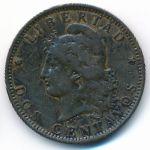 Аргентина, 2 сентаво (1891 г.)