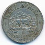 Восточная Африка, 1 шиллинг (1950 г.)