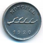 Мергентхайм., 1 пфенниг (1920 г.)
