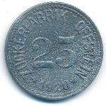 Офштайн., 25 пфеннигов (1920 г.)
