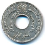 Британская Западная Африка, 1/10 пенни (1944 г.)