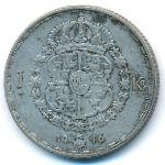 Швеция, 1 крона (1946 г.)