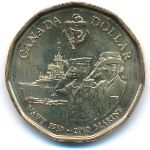 Канада, 1 доллар (2010 г.)