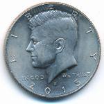 США, 1/2 доллара (2015 г.)