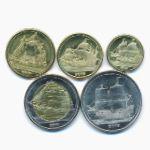 Тортуга, Набор монет (2019 г.)