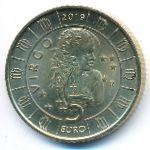Сан-Марино, 5 евро (2019 г.)