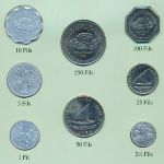 Йемен, Демократическая Республика, Набор монет