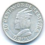 Гондурас, 20 сентаво (1958 г.)