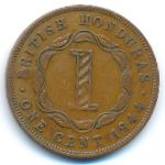 Британский Гондурас, 1 цент (1944 г.)