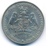 Доминика, 4 доллара (1970 г.)