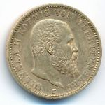 Вюртемберг, 20 марок (1897 г.)
