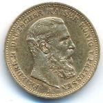 Пруссия, 20 марок (1888 г.)