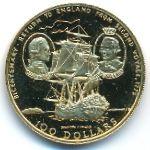Острова Кука, 100 долларов (1975 г.)