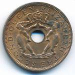 Родезия и Ньясаленд, 1 пенни (1962 г.)