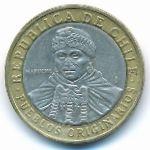 Чили, 100 песо (2009 г.)