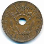 Родезия и Ньясаленд, 1 пенни (1958 г.)