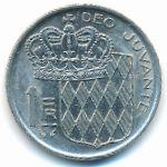 Монако, 1 франк (1977 г.)