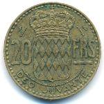 Монако, 20 франков (1951 г.)