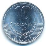 Коста-Рика, 10 колон (2016 г.)