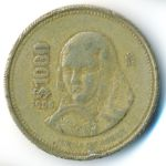 Мексика, 1000 песо (1988 г.)