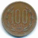 Чили, 100 песо (1989 г.)