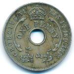 Британская Западная Африка, 1 пенни (1940 г.)