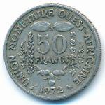 Западная Африка, 50 франков (1972 г.)