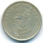Уганда, 500 шиллингов (2003 г.)