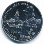 Фолклендские острова, 50 пенсов (1999 г.)