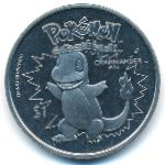 Ниуэ, 1 доллар (2001 г.)