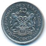 Сьерра-Леоне, 20 центов (1984 г.)