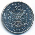 Сьерра-Леоне, 50 центов (1980 г.)