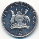 Уганда, 5 шиллингов (1969 г.)